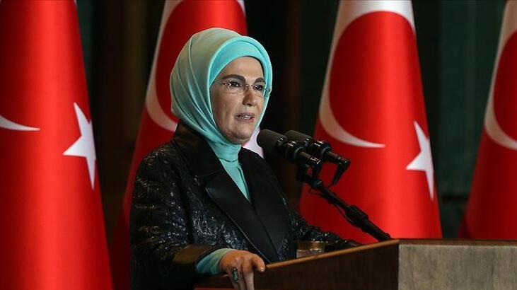 Emine Erdoğan'dan 'dayanışma' mesajı