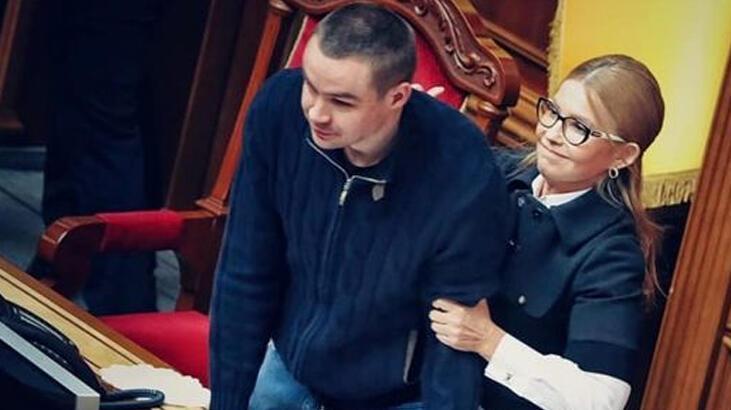 Ukrayna Parlamentosu'nda arbede