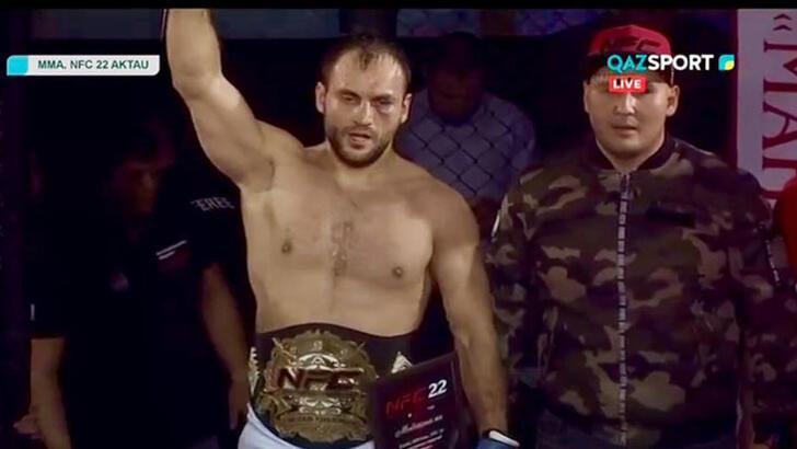 CihanKaplan, Kazakistan'da şampiyon oldu!