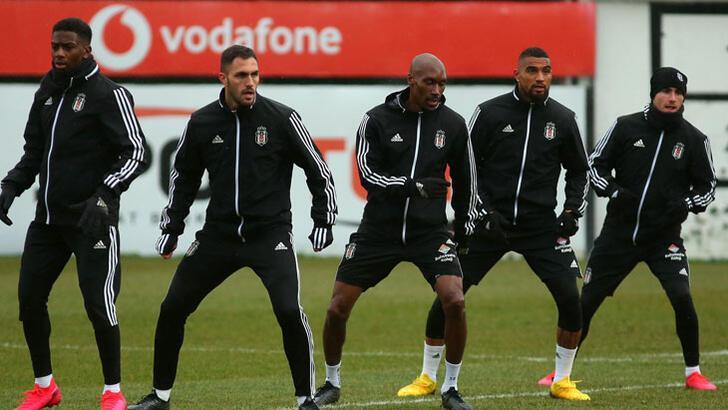 Beşiktaş, Gaziantep FK maçına hazır