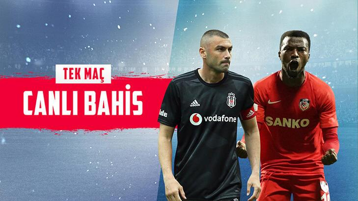 Beşiktaş – Gaziantep FK maçı canlı bahisle Misli.com'da