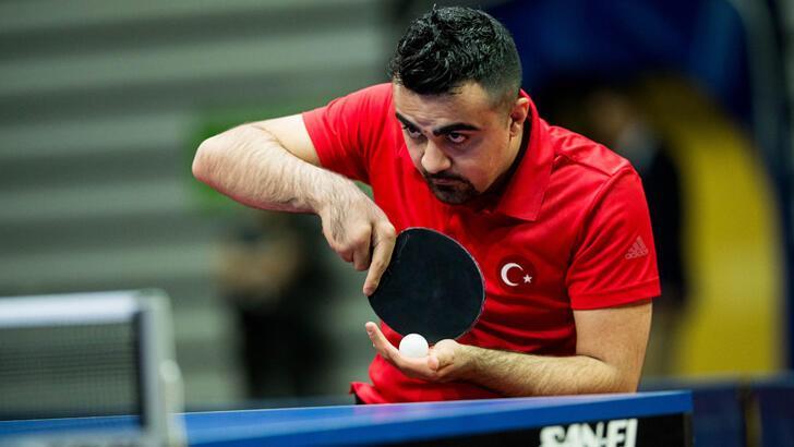 Milli tenisçi Nesim Turan'ın hedefi Paralimpik Oyunları'nda şampiyonluk