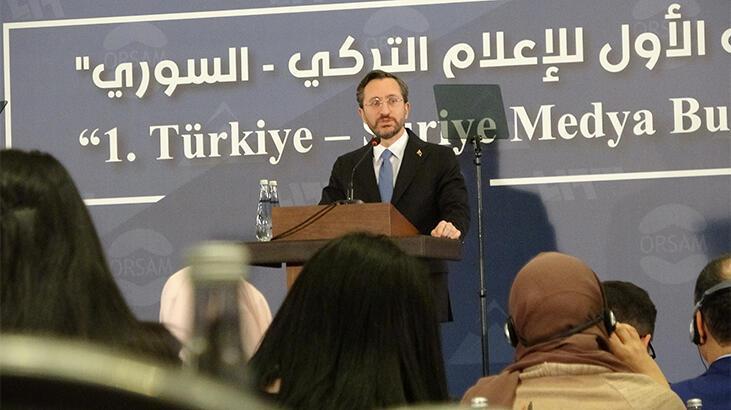 İletişim Başkanı Altun: İdlib'de yaşananları sineye çekmemiz mümkün değil