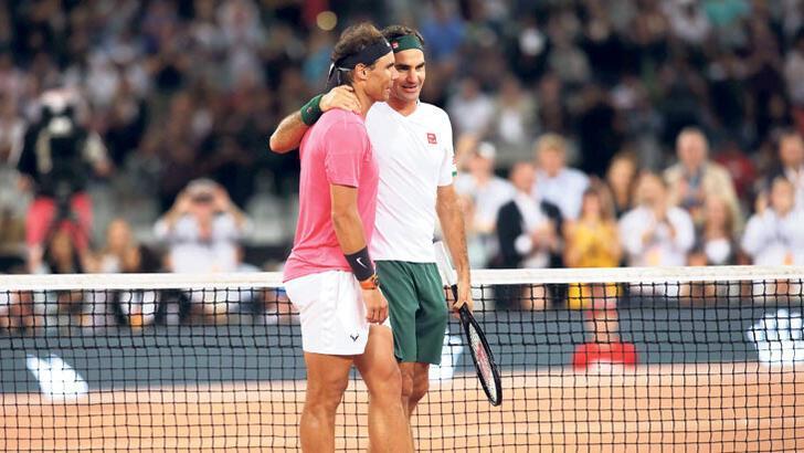 Nadal ve Federer futbolun tahtına göz dikti!