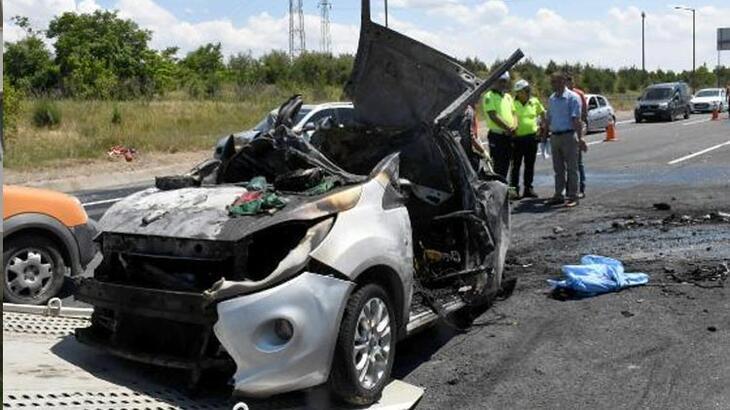 5 kişinin yanarak öldüğü kazada TIR şoförüne 15 yıl hapis istemi!