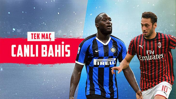 Inter-Milan derbisi canlı bahisle Misli.com'da...