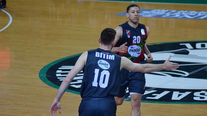 Sigortam.net İTÜ Basket: 81- Pınar Karşıyaka: 91