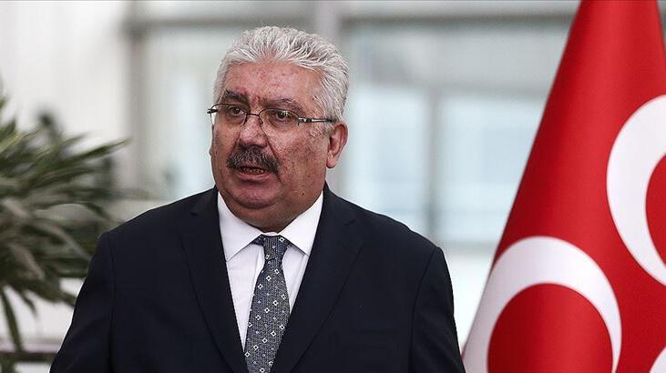 MHP'li Yalçın: Uyuyan komünist Akıncı ve sözcüsü, şehitlerimizin kemiklerini sızlatmıştır