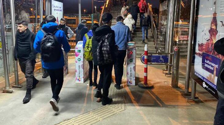 İstanbul'da toplu ulaşımda zamlı ilk gün