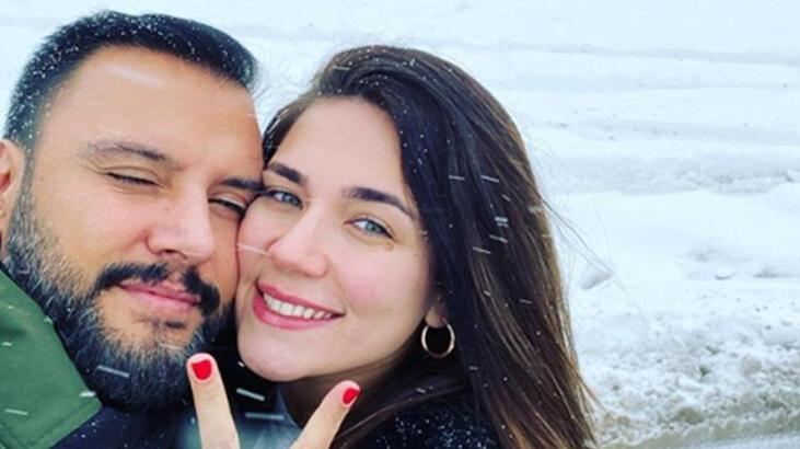 Alişan-Buse Varol çifti kış tatiline çıktı