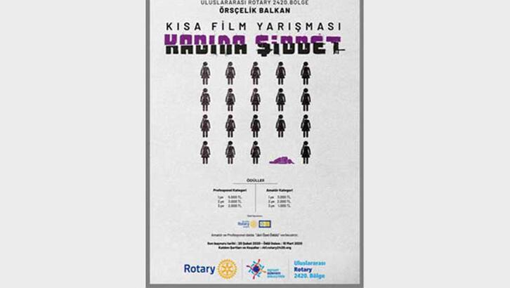 Kadına yönelik erkek şiddeti temalı kısa film yarışması