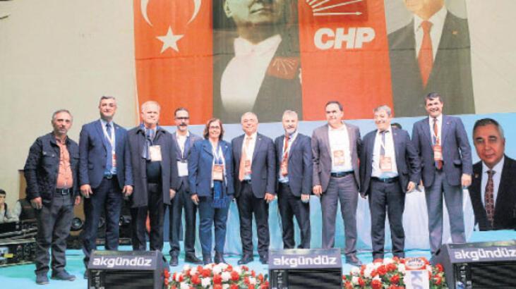 CHP'de Çankır, 442 oyla yeniden başkan