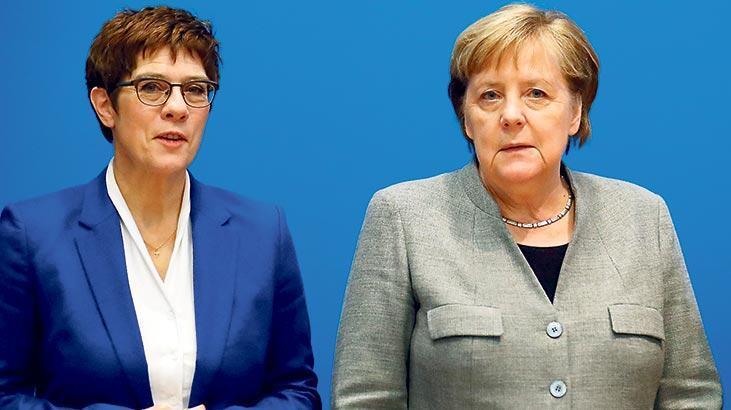 Merkel'in halefi de kriz yüzünden gitti