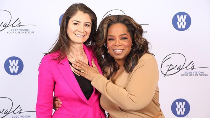 New York'ta Belgin Aksoy ve Oprah buluşması