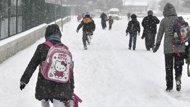 Okullar tatil mi? 12 Şubat (Bugün) hangi il ve ilçelerde okullar tatil edildi? Kar tatili olan il ve ilçeler...