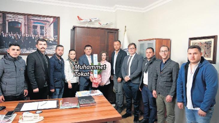CHP'li gençlere başkandan destek