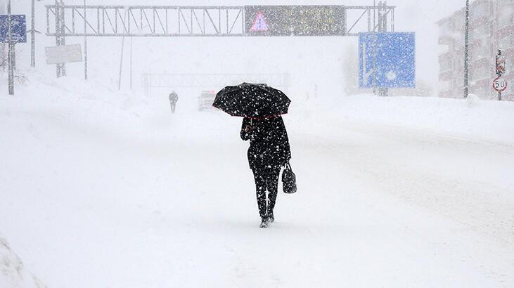 Meteoroloji'den 6 il için yoğun kar uyarısı