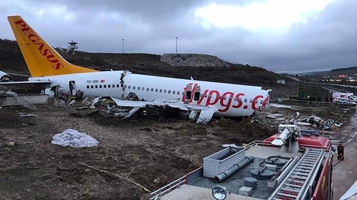 Pistten çıkan uçak soruşturması! Kabin memurları şikayetçi olmadı