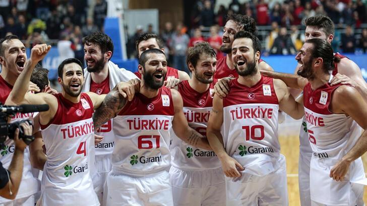 A Milli Erkek Basketbol Takımı'nın EuroBasket 2021 Elemeleri aday kadrosu belli oldu
