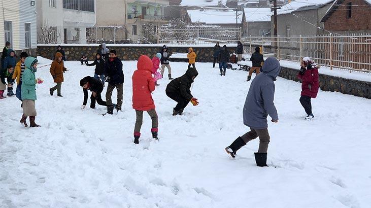 Eğitime kar engeli! 14 Şubat 2020 okulların tatil olduğu iller
