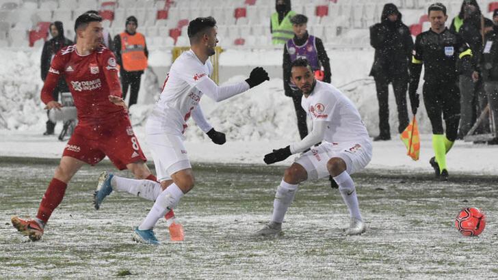 Sivasspor Antalyaspor: 1-1