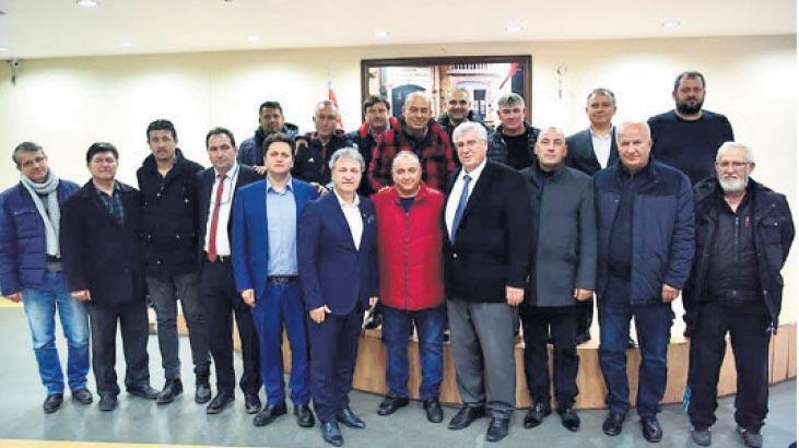 Bornova Kulüpler Birliği'nde yeni başkan Hakan Beşyıldız
