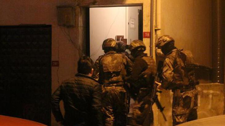 İstanbul'da silahlı suç örgütüne operasyon