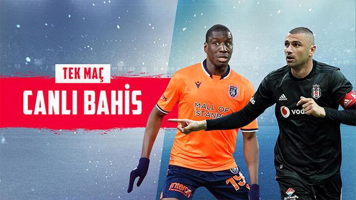 Başakşehir-Beşiktaş maçının heyecanı Misli.com'da...
