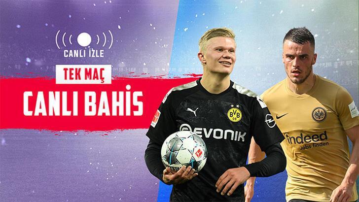 Borussia Dortmund, Frankfurt'u konuk ediyor! Heyecan Misli.com'da...