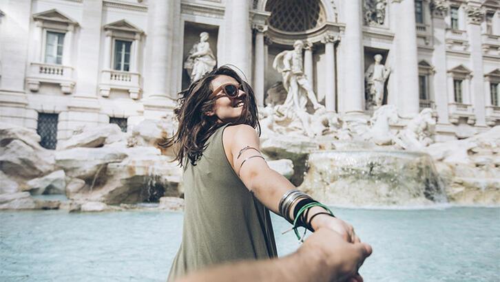 Aşıklar çeşmesi Fontana di Trevi