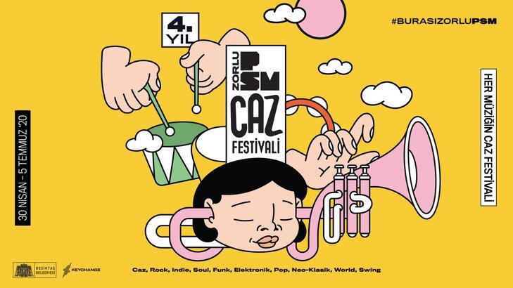 4. PSM Caz Festivali'nde yıldızlar geçidi