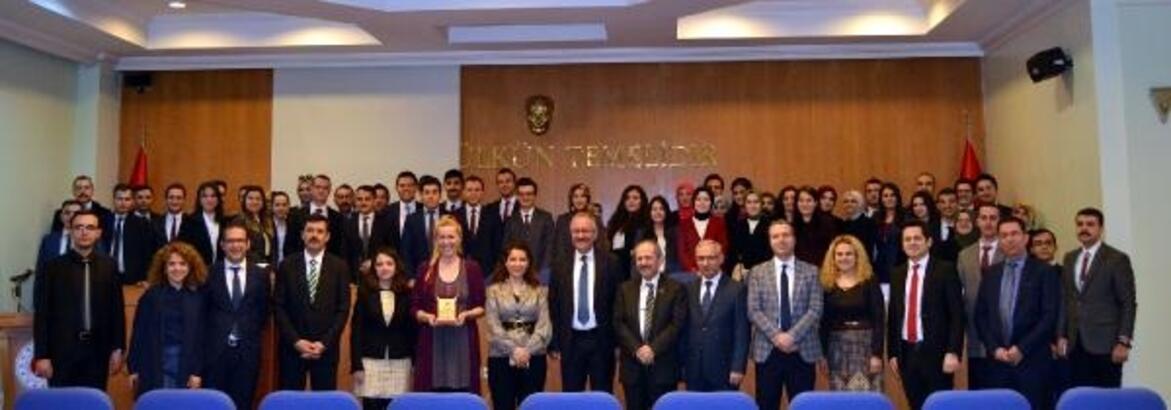 """Bursa'da hakim ve savcı adayları """"Duygu Yönetimi"""" eğitimi aldı"""