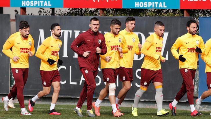 Galatasaray, Yeni Malatyaspor maçı hazırlıklarını sürdürdü