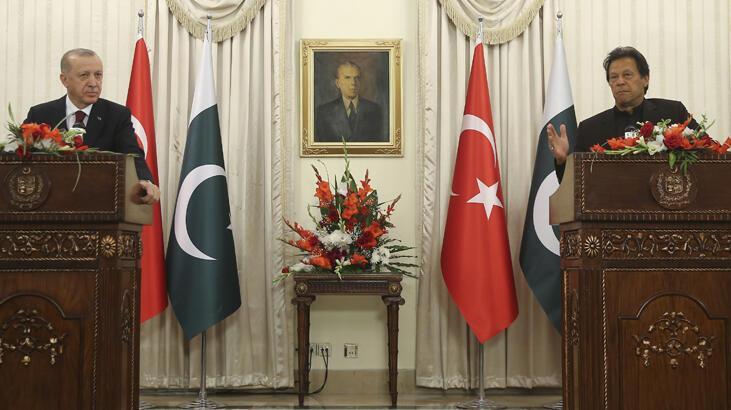Cumhurbaşkanı Erdoğan ve İmran Han'dan ortak basın toplantısı! Dikkat çeken sözler...