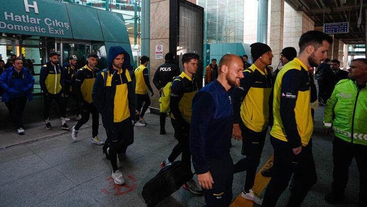 Fenerbahçe kafilesi, Ankara'ya geldi!