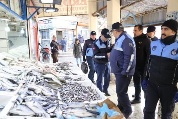 Hatay'da balıkçılara denetleme