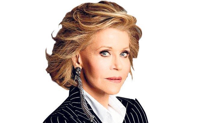 Ünlü oyuncu Jane Fonda,'Artık kendimi kestirmeyeceğim'