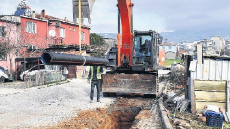 Altyapı için 73 milyon lira tutarında yatırım