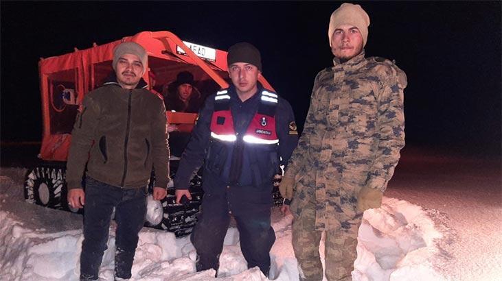Yozgat'ta yaylada mahsur kalan iki kişi kurtarıldı