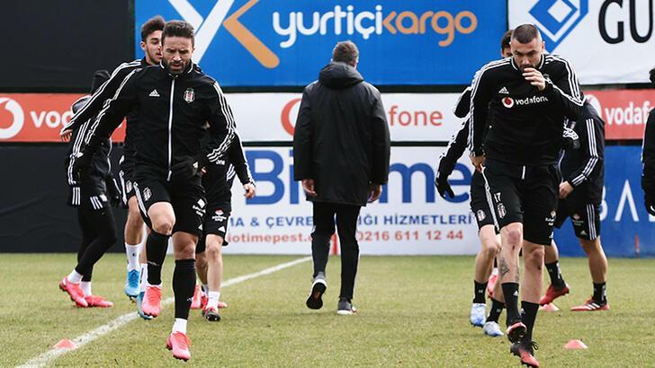 Beşiktaş, Trabzonspor maçı hazırlıklarına başladı