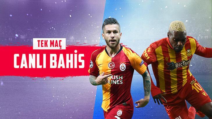 Galatasaray – Yeni Malatyaspor maçı canlı bahisle Misli.com'da