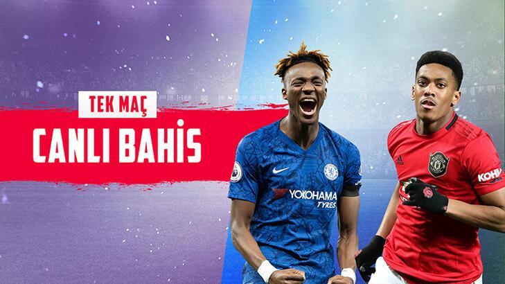 Chelsea - Manchester United maçı canlı bahisle Misli.com'da