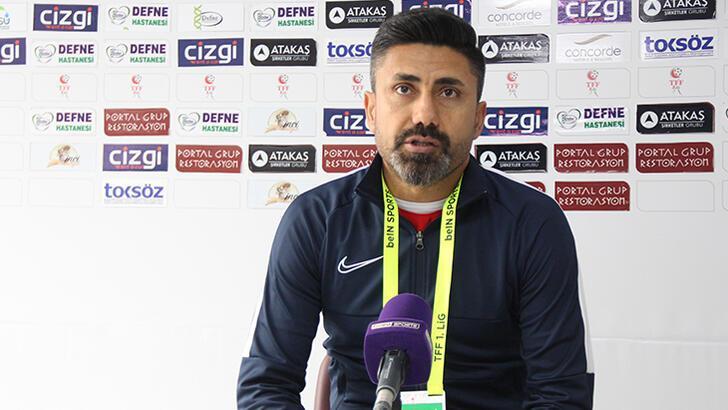 Hatayspor, teknik direktör Bayram Toysal ile yollarını ayırdı