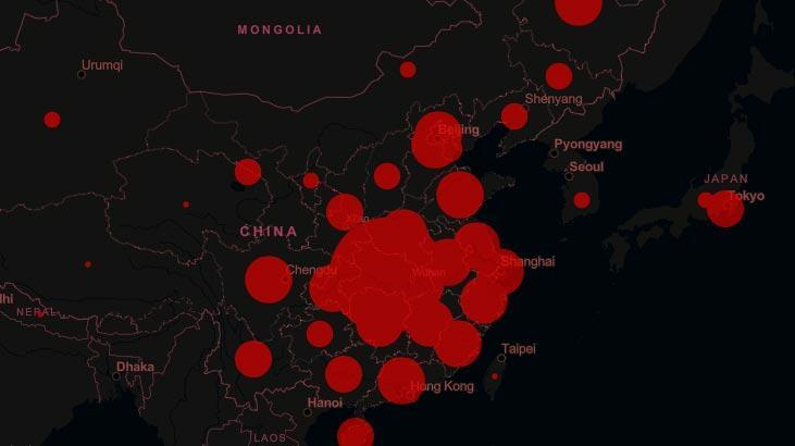 Çin'de Kovid-19 salgınında can kaybı 1869'a çıktı