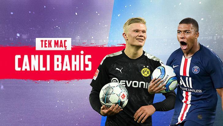 Dortmund-PSG maçı canlı bahisle Misli.com'da