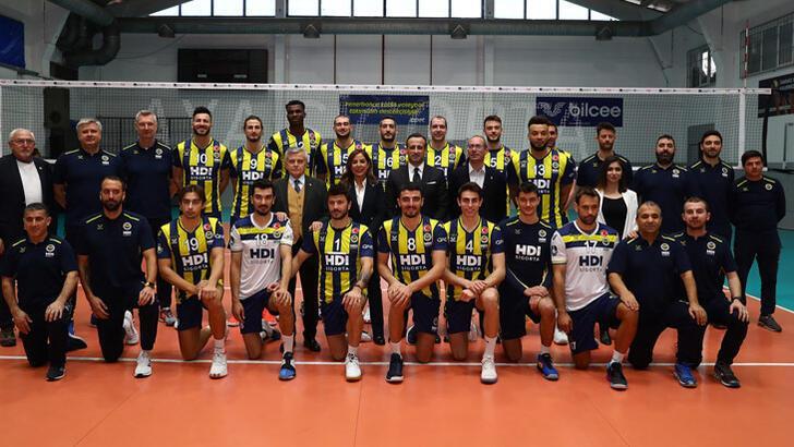 Fenerbahçe HDI Sigorta, Cucine Lube deplasmanında