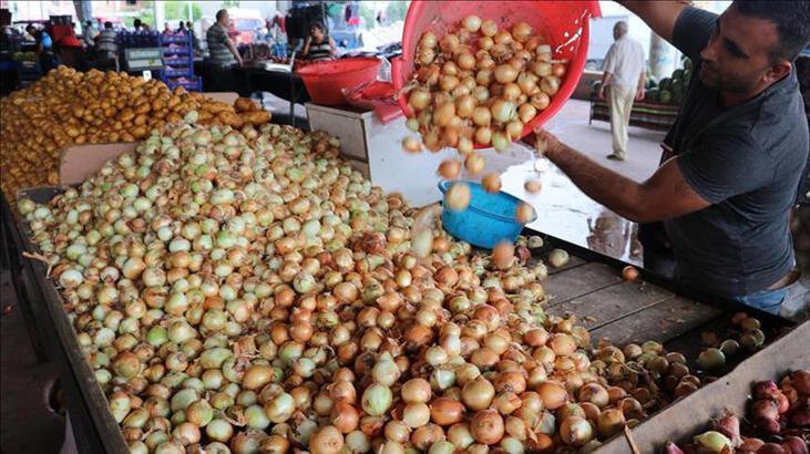 Soğan ve patateste üretim mayısa kadar yeterli