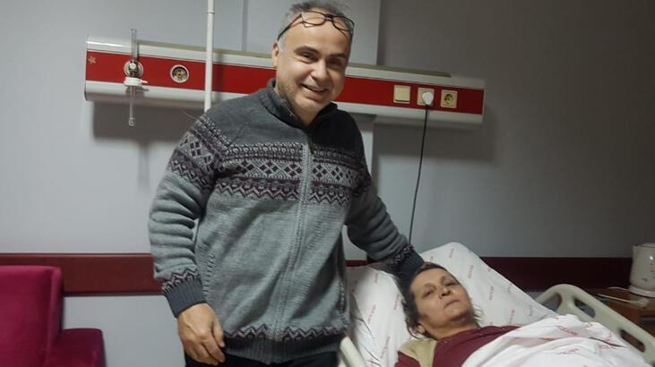 Hamile sanılan kadının karnından 7,5 kilogramlık kitle çıktı
