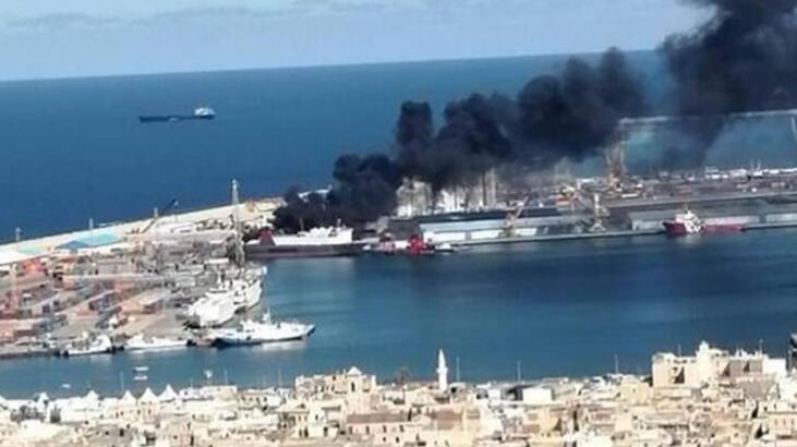 Hafter milisleri Trablus Limanı'na saldırdı
