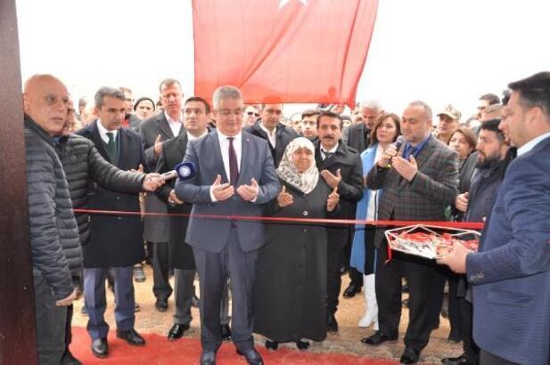 Besni'de Latif Doğan taziye evi açıldı